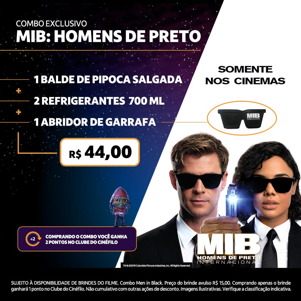 Itaú Cinemas Combo Exclusivo Mib Homens De Preto